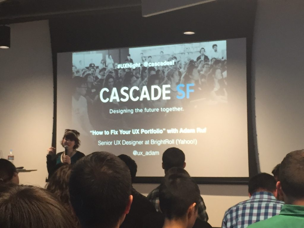 UX Night Cascade SF